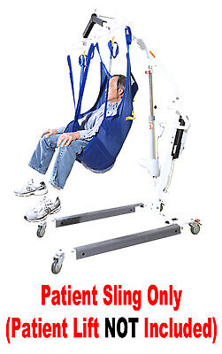 NEW Universal Padded Patient Lift Sling WITHOUT HEAD SUPPORT Use With Most Lifts