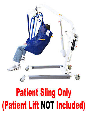 NEW - Universal Mesh Sling WITHOUT HEAD SUPPORT - Use With Most All Lifts