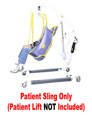 NEW Patient Lift Sling WITH HEAD SUPPORT Use W/ LIKO GULDMANN Most All Lifts