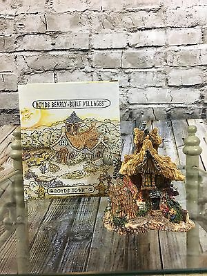 Boyds Bearly-Built Villages #19016 Martha's Bearly Bloom'n Flower Shop 1E