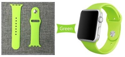 Apple Watch 38mm Compatible Replacement Sports Band Green