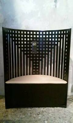 Cassina throne Mackintosh no serial vintage first copies tag willow 1