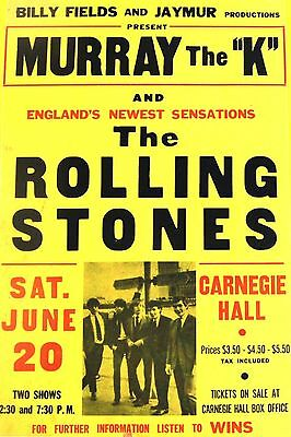 0590 Vintage Music Poster Art - The Rolling Stones