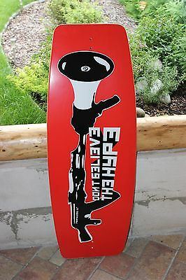 "Propaganda ""HYPE"" 44"" Wake Skate New Boxed 5mm Foam grip"