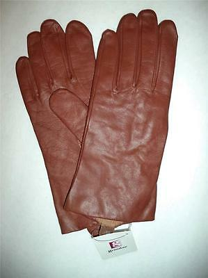 Grandoe100% Cashmere Lined Genuine Leather Gloves,XL -SEE DESCRIPTION FOR PICS