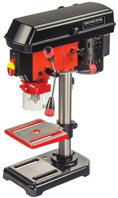 General International 2 Amp 8 in. 5 Speed Drill Press with Laser System