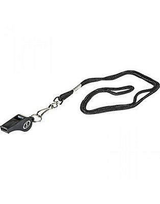 Spalding Basketball NBA Black Pro Referee Game Play Whistle With Lanyard