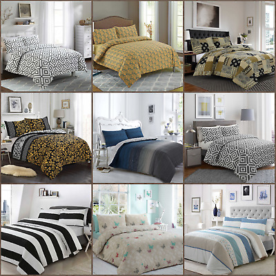 Fabulous All Sizes Egyptian Cotton Printed Duvet Cover Sets Bedding Sets