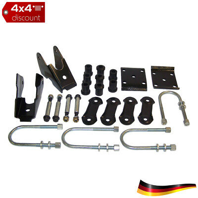 Leaf Spring Mounting Kit, hinten Jeep Wrangler YJ 1987/1995