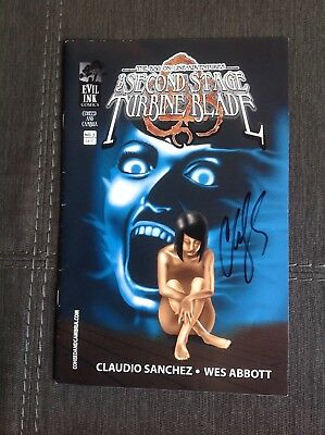 Coheed And Cambria - Second Stage Turbine Blade Vol. 2 - Signed By Sanchez