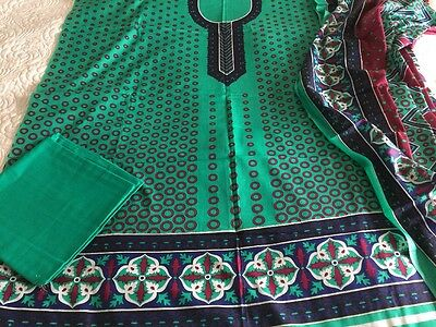 Pakistani designer dawood  LAWN COLLECTION UN-STITCHED SHALWAR KAMEEZ SUIT