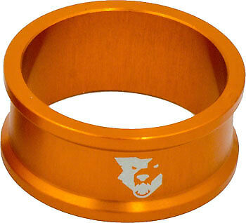Wolf Tooth Components Headset Spacer 5 Pack, 15mm, Orange