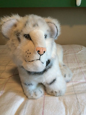 Siegfried and Roy White tiger Plush 15inch! Rare! Las Vegas! Christmas Gift