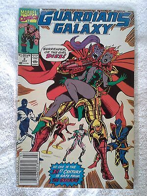 Guardians Of The Galaxy #2 July 1990 Marvel Comic Book