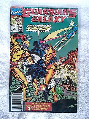 Guardians Of The Galaxy #3 Aug 1990 Marvel Comic Book