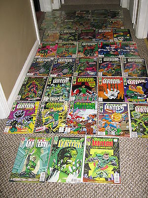 Green Lantern #1&#50 Hal Jordan 1990 lot set run & Emerald Dawn I/II 53 issue DC
