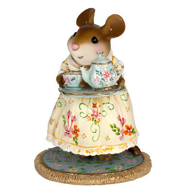 Wee Forest Folk A Cosy Tea - Summer - Limited To 300 M594D NIB