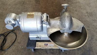 """Hobart 84141 Buffalo chopper 14"""" Stainless Steel bowl 115 volts tested"""