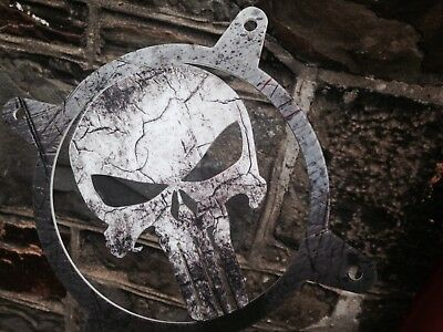 (Punisher) Printed Grillz -   120mm Custom Fan Grill PC Computer Grill