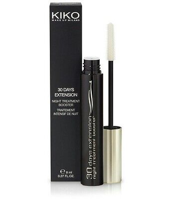 Kiko Milano 30 Days Extension Night Treatment Booster Mascara  8 Ml - Bnib