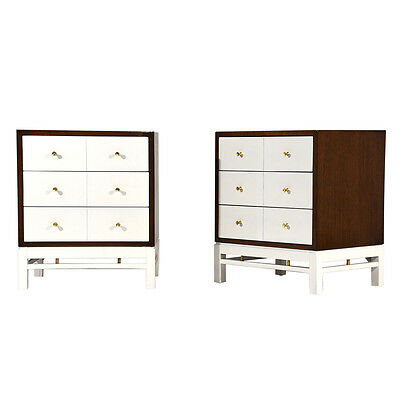 Pair of Mid-Century Modern-style Side Tables or Nightstands by Paul McCobb