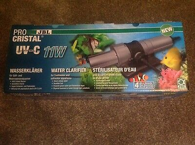 JBL ProCristal UV - C 11 W sterilizer uv for aquarium de 200 à 800 L