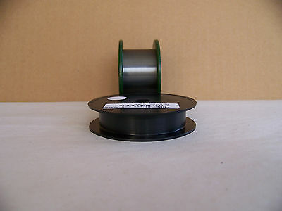 "Tungsten / Wolfram  wire 0.0175  mm /0.0007 ""  -  3 m.  / 10  ft."