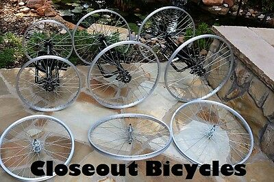 TRICYCLE CONVERSION KIT 7-SPEED SHIMANO 15MM AXLE HOLLOW HUB WHEELS NEW!