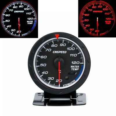 "Universal 2.5"" 60mm Auto Car Water Temperature Gauge 20-120℃ Water Temp Meter"