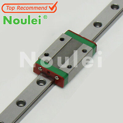 Brand New Noulei MGN9/12 250-400mm Mini Linear Guide rails CNC with Slide Block