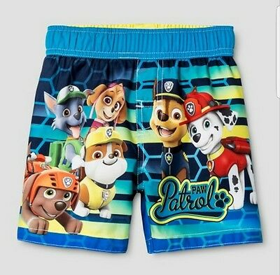 Nickelodeon Paw Patrol Boys Swim Trunks 4T