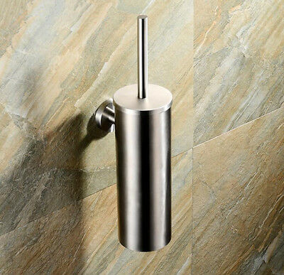 stainless steel toilet brush holder bar glass cup wall mounted bathroom 057 cad. Black Bedroom Furniture Sets. Home Design Ideas