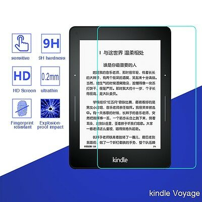 9H Premium Tablet Tempered Glass Screen Protector Film For kindle Voyage 6''