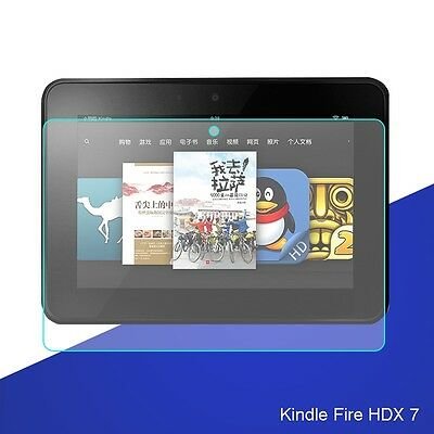For Kindle Fire HDX 7 9H Premium Tablet Tempered Glass Screen Protector 7''