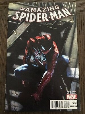 Amazing Spiderman 3 Vol 4 2015 Rare Gabrielle Dell Otto Variant Nm+