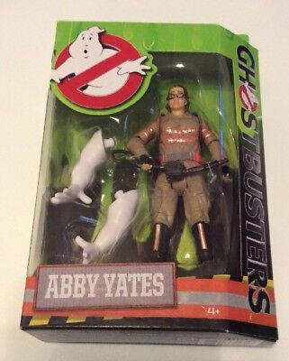 """Ghostbusters Abby Yates 6"""" Action Figure Toy with Free Shipping, New, Unopened"""
