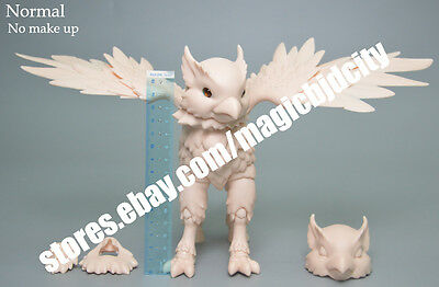 HOT SALE fashion doll 1/4 bjd doll  Hippogriff Rus free eyes + make up