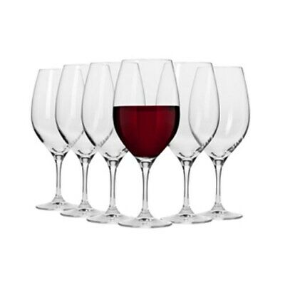 New Krosno Vinoteca 520ml Shiraz Wine Glass - Set of 6 - Gift Boxed