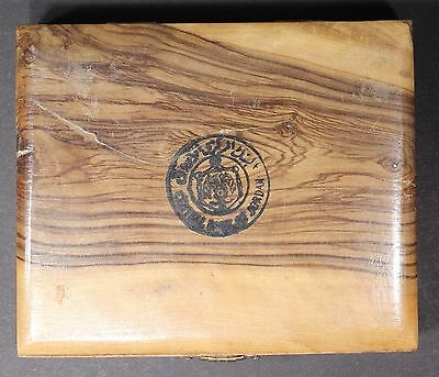 JORDAN 6 Coin set 1, 5,10, 20, 50,100 Fils 1965 in Central Bank Olive wood box