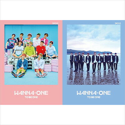 Wanna One -  To Be One (1st Mini Album) (Sky/Pink Ver) CD Sealed New