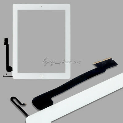 For iPad 4/air 2/mini 1 2 Touch Screen Glass Lens Digitizer Replacement +IC Chip