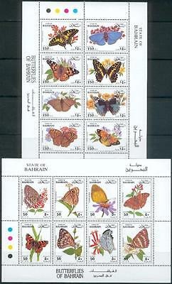 Bahrain 1994 ** Mi.527/42 Schmetterlinge Butterflies Insekten Insects