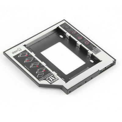 Hard Drive Tray 9.5mm SATA to SATA 2nd HDD Caddy for HP Dell MacBook Pro HP Best
