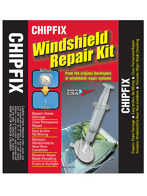 CHIPFIX Windscreen Repair Kit DIY Car Chip Glass Crack Stone Repair MADE IN USA