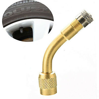 Brass Air Tyre Valve Extension Car Truck Motorcycle Wheel Tires Parts Tools CN