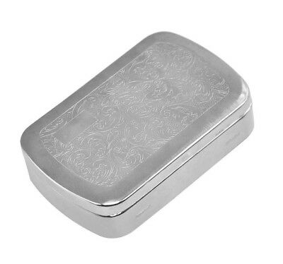 1 X Pocketsize Metal Cigarette Crush Proof Tobacco Box for 70MM Papers Holder