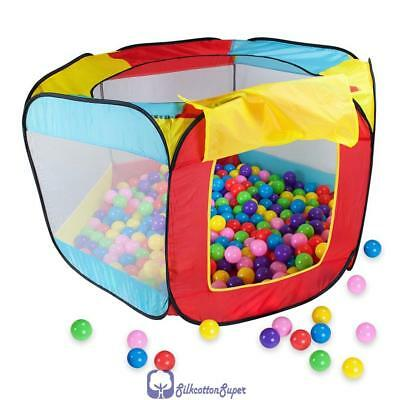 Baby Kids Play Den Pop Up Tent Childrens Ball Pool Pit Indoor Outdoor Playhouse