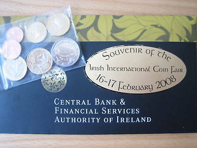 "Mds Irland Euro-Kms 2008, 1 Ct. - 2 Euro ""irish International Coin Fair"""