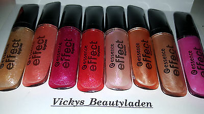 Essence Effect Lipgloss Farbwahl