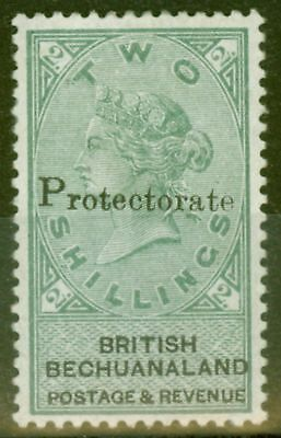 Bechuanaland 1888 Protectorate 2s Green & Black SG47 V.F Lightly Mtd Mint Choice